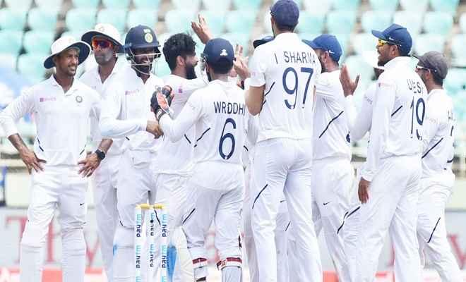 रांची टेस्ट में भारत की शानदार जीत, दक्षिण अफ्रीका को पारी और 202 रन से हराया
