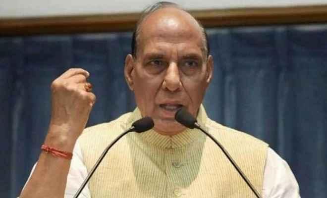 पाक के परमाणु युद्ध की धमकी पर रक्षा मंत्री राजनाथ का जवाब, कहा- भारत पर बुरी नजर रखने वालों को नहीं छोड़ेगी सेना