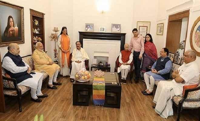 लालकृष्ण आडवाणी का जन्मदिन आज, प्रधानमंत्री मोदी सहित अन्य नेताओं ने दी जन्मदिन की बधाई