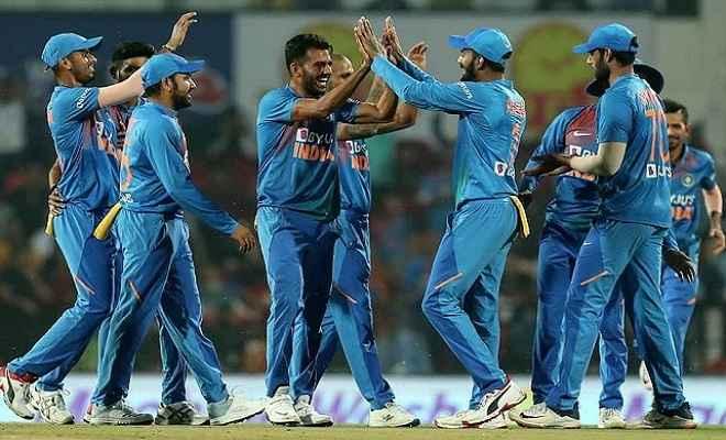 INDvsBAN: चाहर की शानदार गेंदबाजी के सामने बांग्लादेश पस्त, भारत ने 2-1 से जीती श्रृंखला
