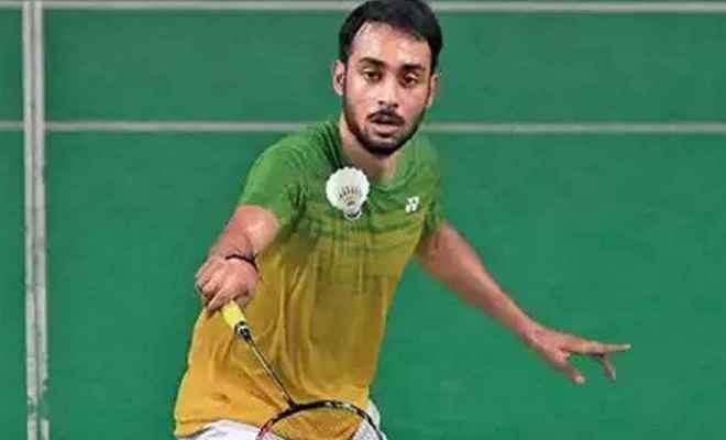 बैडमिंटन खिलाड़ी सौरभ वर्मा ने हांगकांग ओपन के मुख्य ड्रॉ के लिए किया क्वालीफाई