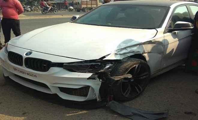 लालू यादव के पुत्र तेज प्रताप की कार ऑटो से टकराई, प्रशासन में मचा हड़कंप