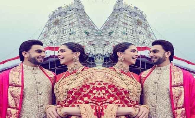 शादी की पहली सालगिरह पर तिरुपति पहुंचे रणवीर-दीपिका, देखें PHOTO