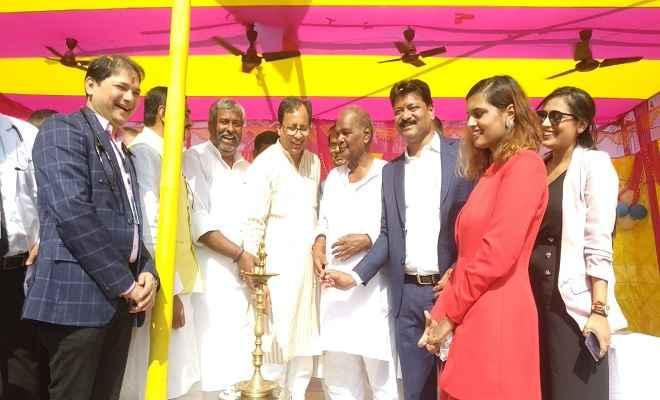 भाजपा प्रदेश अध्यक्ष सह सांसद डॉ. जायसवाल ने रक्सौल में एसआरपी मेमोरियल हॉस्पिटल का किया उदघाट्न