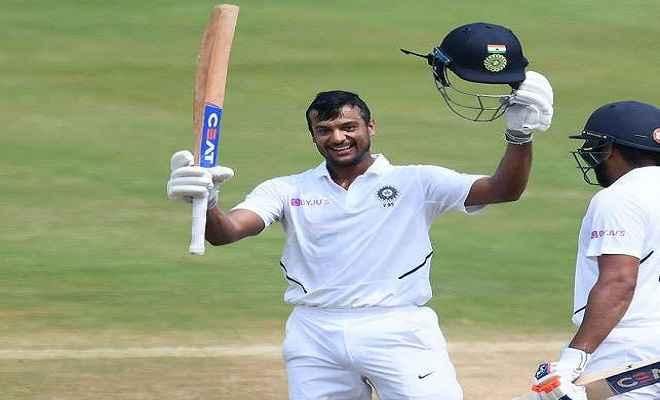 IND vs BAN: मयंक अग्रवाल ने ठोका टेस्ट करियर का तीसरा शतक, भारत 240 रन के पार