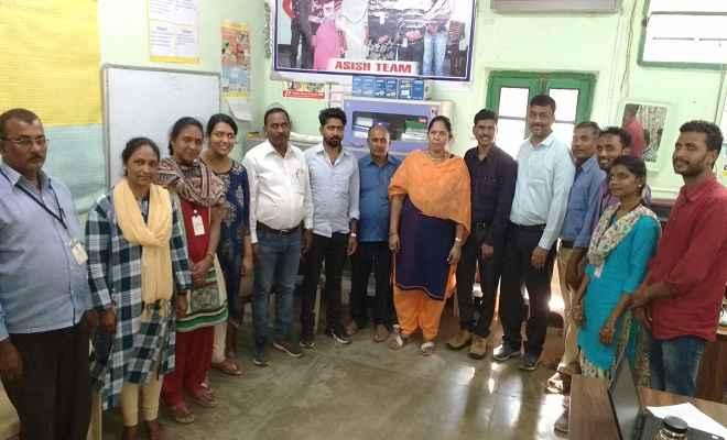 आशीष परियोजना डंकन अस्पताल द्वारा किए गए कार्यों का रक्सौल एवं आदापुर क्षेत्र में मूल्यांकन किया गया