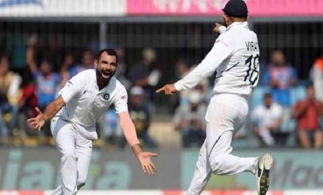 भारत ने घोषित की 493 पर पहली पारी, बांग्लादेश ने खोए दो विकेट, हार का खतरा मंडराया