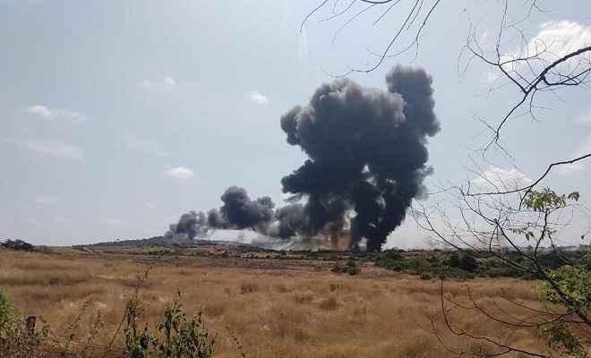 गोवा में मिग-29K लड़ाकू विमान दुर्घटनाग्रस्त, दोनों पायलट सुरक्षित