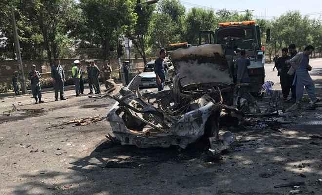 काबुल में सैनिक ट्रेनिंग सेंटर के बाहर आत्मघाती हमला, 4 जवान घायल