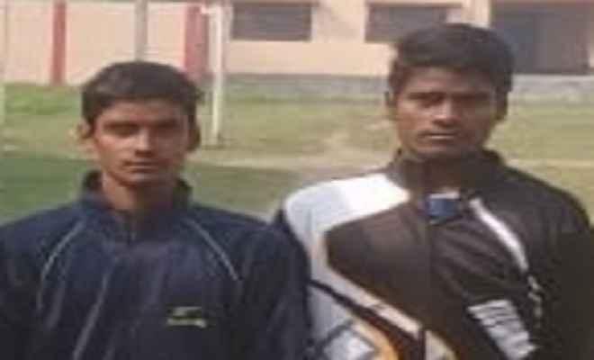 नरकटियागंज के दो खिलाड़ी संदीप कुमार और वाजिद अली का अखिल भारतीय एथलेटिक्स प्रतियोगिता के लिए चयन