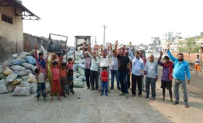 भारत-नेपाल सीमा रक्सौल में प्रदूषित डस्ट से लोग परेशान