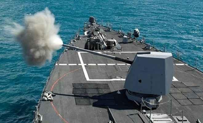 भारतीय नौसेना की ताकत में होगा इजाफा, अमेरिका बेचेगा एक अरब डॉलर की तोपें