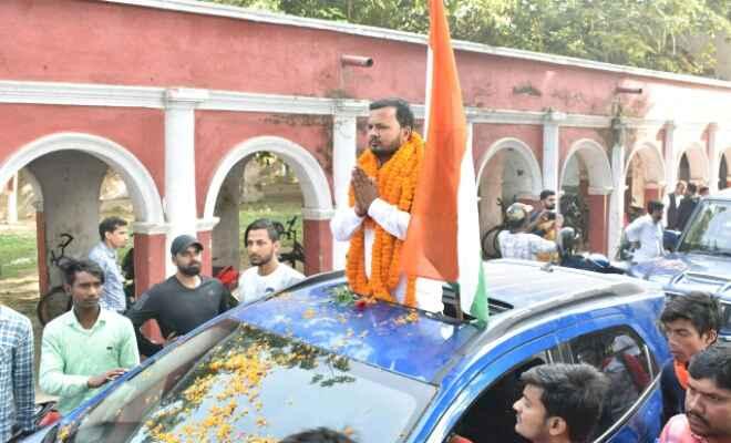 प्रेसिडेंसीएल डिबेट में निर्दलीय उम्मीदवार नीरज यादव ने कहा–जीता तो लौटाउंगा पटना विवि को गौरव