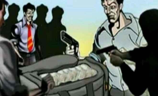 बेगूसराय में गल्ला व्यवसाई से बेखौफ अपराधियों ने की लूटपाट