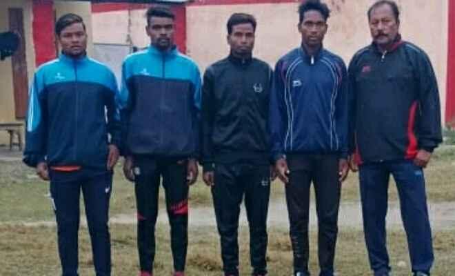 मोइन-उल-हक ट्रॉफी के लिए बेतिया जिला टीम में नरकटियागंज के 5 खिलाड़ी शामिल