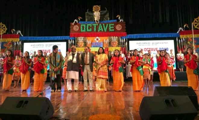 पूर्वोत्तर भारत का सबसे बड़ा सांस्कृतिक कार्यक्रम 'ऑक्टेव 2019' हुआ सफलतापूर्वक संपन्न