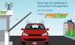 आज से सभी वाहनों के लिए स्वचालित टोल टैक्स भुगतान की अनिवार्य फास्टैग व्यवस्था लागू
