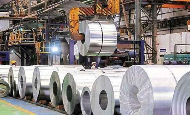 देश में इस्पात की उत्पादन क्षमता 89 एमटी से बढ़कर 103 एमटी हुआ