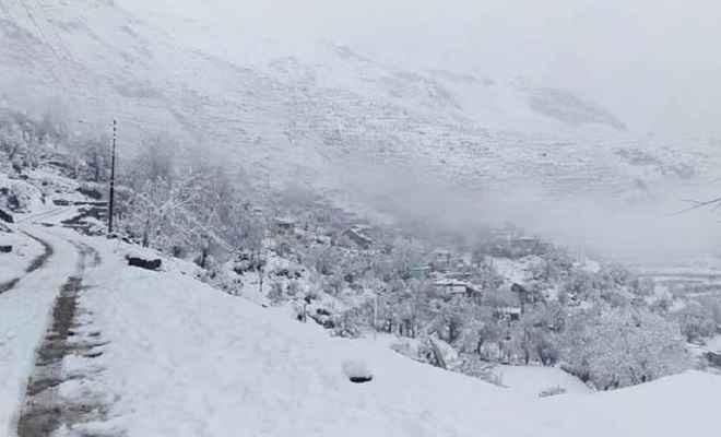 हिमाचल की पांगी घाटी में हिमस्खलन से भीषण तबाही