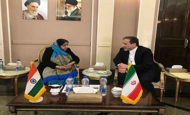 भारत और ईरान मिलकर करेंगे आतंकवाद का मुकाबला, आपसी सहयोग पर हुए सहमत