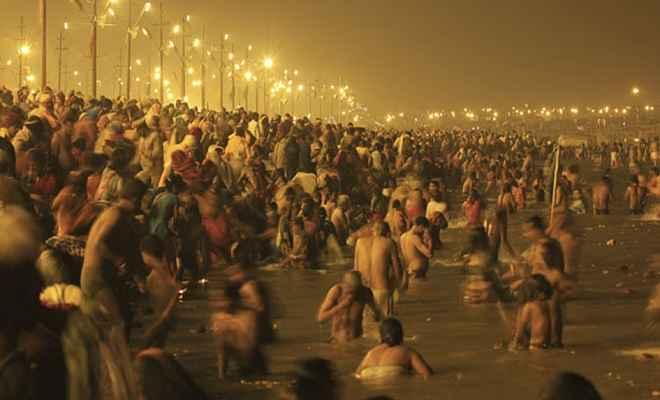 माघी पूर्णिमा पर आज कुंभ में श्रद्धालु लगा रहे हैं आस्था की डुबकी, 80 लाख लोगों के स्नान करने का अनुमान
