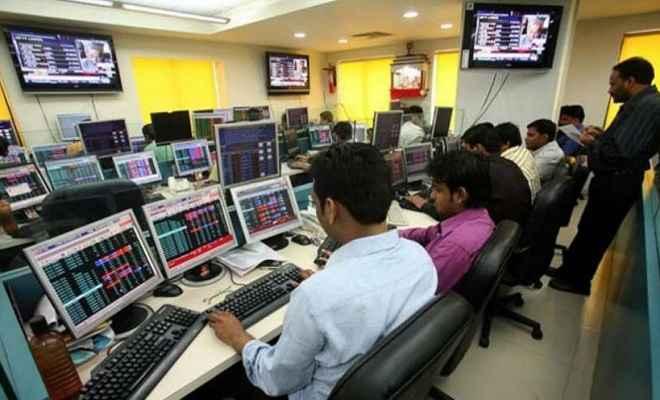 शेयर बाजार: गिरावट का सिलसिला थमा, सेंसेक्स 150 अंक उछला