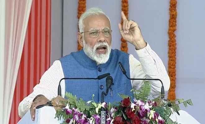 प्रधानमंत्री मोदी ने वाराणसी में देश के दूसरे सबसे बड़े कैंसर हॉस्पिटल का किया लोकार्पण