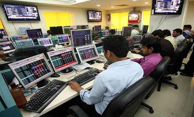 शेयर बाजार में बढ़त का सिलसिला जारी, सेंसेक्स 37600 के पार