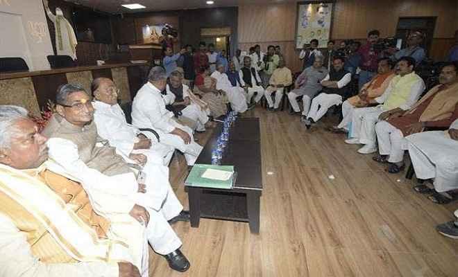 भाजपा चुनाव समिति की बैठक संपन्न, तीन नेता चुनेंगे लोकसभा चुनाव के उम्मीदवार