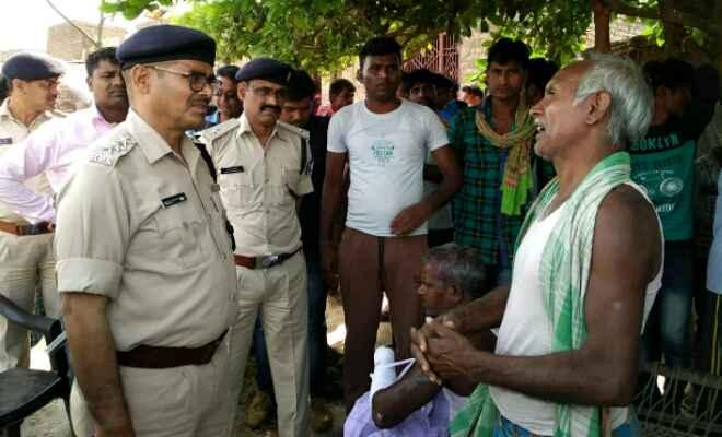 दो गुटों के बीच गोली बारी में तीन घायल, जदयू नेता समेत तीन को पुलिस ने लिया हिरासत में