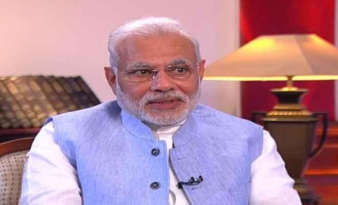 राम मनोहर लोहिया का जिक्र कर प्रधानमंत्री मोदी ने कांग्रेस पर साधा निशाना