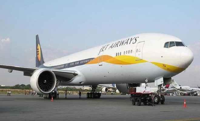 आर्थिक संकट से जूझ रही जेट एयरवेज को बैंकों से नही मिली इमरजेंसी फंडिग, सभी उड़ानें बंद