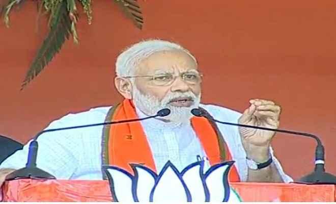 नासिक में गरजे प्रधानमंत्री, कहा- 'ये मोदी है, आतंकियों को पाताल से भी निकालकर खत्म करेगा'