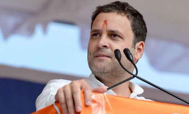 निर्वाचन अधिकारी ने राहुल गांधी के नामांकन को ठहराया वैध, प्रत्याशी ने उठाए थे सवाल