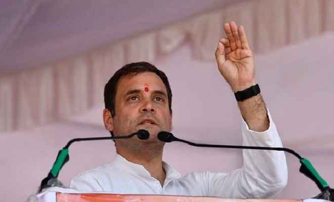 राजस्थान: मोदी पर बरसे राहुल, कहा- प्रधानमंत्री मोदी ने सबसे अधिक नुकसान आदिवासियों का किया