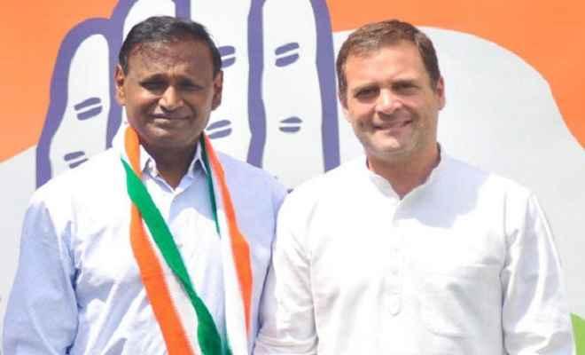 उदित राज ने भाजपा का साथ छोड़ थामा कांग्रेस का 'हाथ', टिकट ना मिलने से थे खफा