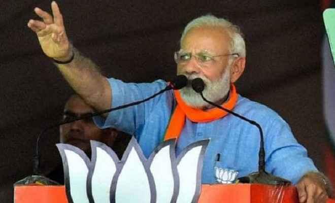 रोड शो से गदगद हुए प्रधानमंत्री मोदी, लोहरदगा की रैली में बोले- ये लहर नहीं ललकार है