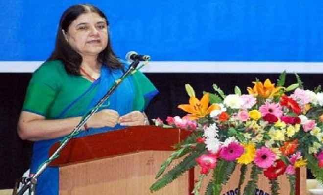 गांव की विकास और खुशहाली के लिए फिर बनायें मोदी सरकार: मेनका गांधी