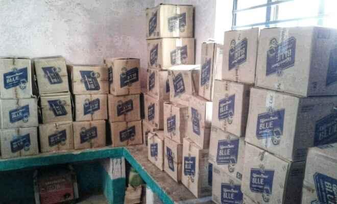 बहेड़ी थाना में 1062 लीटर विदेषी शराब बरामद, 2 गिरफ्तार वाहन जप्त