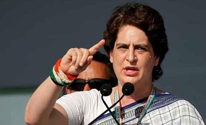 प्रियंका गांधी ने कहा- कांग्रेस की सरकार बनने पर युवाओं को मिलेगा रोजगार