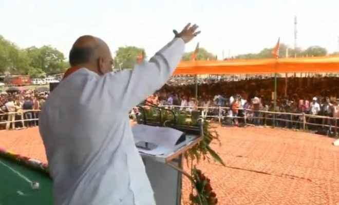 देश में 300 इलाकों में गया सभी जगह मोदी-मोदी की ही बस गूंज है: अमित शाह