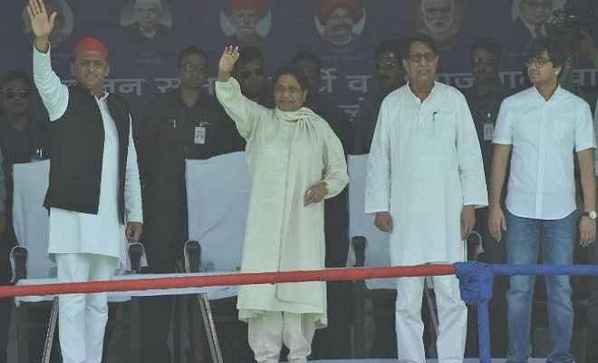 गोरखपुर में मायावती, अखिलेश और अजित की रैली: मायावती ने कहा, 23 मई से शुरू होंगे भाजपा के बुरे दिन