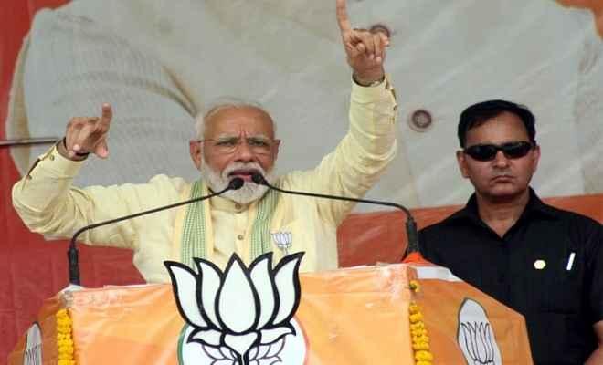 सासाराम में प्रधानमंत्री मोदी ने कांग्रेस पर जमकर साधा निशाना, कहा- इनका अहंकार सातवें आसमान पर