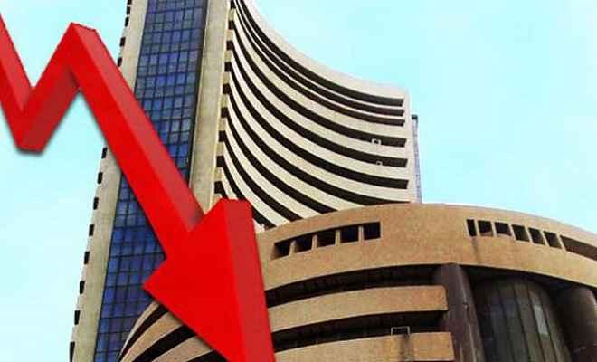 शेयर बाजार: कारोबार की समाप्ति पर 204 अंक की गिरावट लेकर बंद हुआ सेंसेक्स