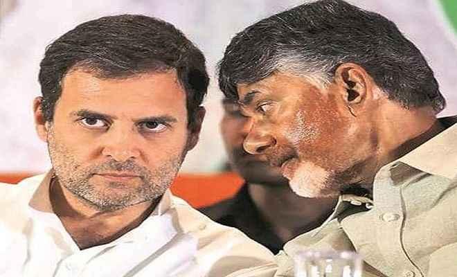 लोकसभा चुनाव: नतीजों से पहले विपक्ष की मोर्चेबंदी शुरू, चंद्रबाबू नायडू ने की राहुल गांधी से मुलाकात