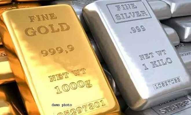 सोना 300 रुपए लुढका, चांदी 25 रुपए फिसली, जानें आज के भाव