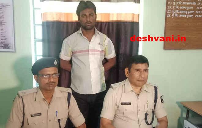 मोतिहारी के बलुआटाल के पास एसबीआई एटीएम में चोरी के प्रयास के आरोपी गिरफ्तार, सीसीटीवी से हुई शिनाख्त