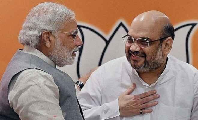 अमित शाह ने एनडीए नेताओं को डिनर पर बुलाया, प्रधानमंत्री मोदी भी रहेंगे मौजूद