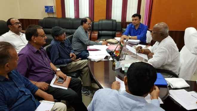 मंत्री प्रमोद कुमार ने लखौरा महोत्सव, बैरिया देवी महोत्सव व चम्पारण सत्याग्रह महोत्सव पर विमर्श मंत्रालय के पदाधिकारियों से किया