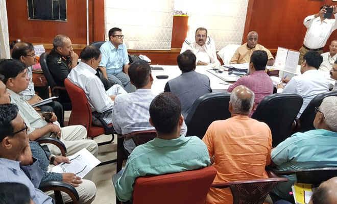 अंतरराष्ट्रीय योग दिवस की सफलता को स्वास्थ्य और कला, संस्कृति एवं युवा विभाग ने की बैठक, मंत्री प्रमोद व मंगल पाण्डेय मौजूद